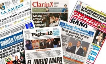 Las Tapas de Los Diarios Más importantes