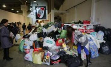 RIVER SOLIDARIO: Donaciones para los damnificados