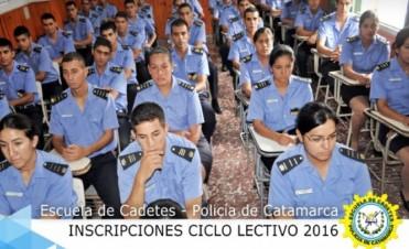 Inscripciones para Ingresar a la Escuela de Cadetes-Ciclo Lectivo 2016