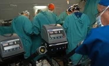 Primer trasplante simultáneo de pulmones y corazón
