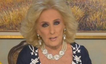 Mirtha Legrand,  por las inundaciones: Me extraña que la Presidente no habló a los argentinos