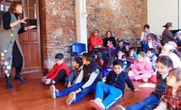 Los chicos celebraron su día en la Casa de la Cultura