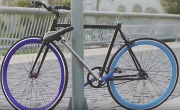 CHILE: Crean la primera bicicleta que no puede ser robada