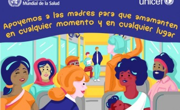 La OMS pide dejar a las mujeres amamantar a sus hijos