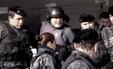 López aseguró que el dinero que intentaba esconder en el convento