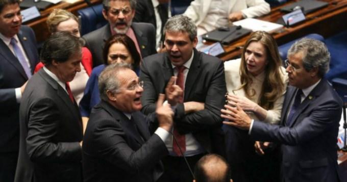 Debate caliente en Brasil en el juicio a Dilma