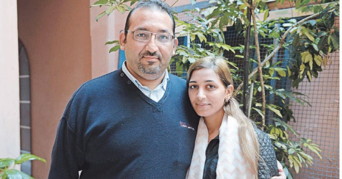 Dos refugiados sirios en busca de paz