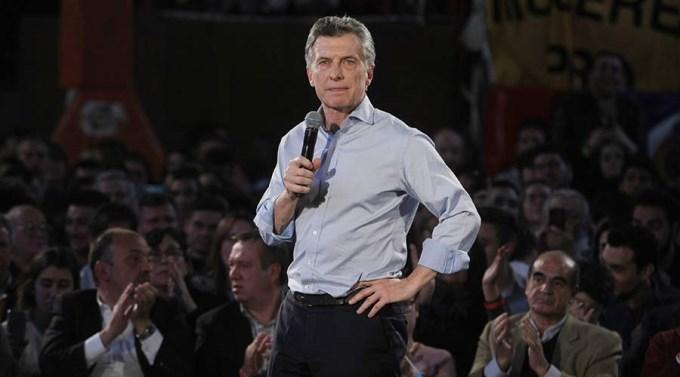 Macri declaró 27 millones menos que el año anterior