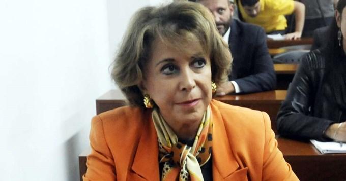 María Julia Alsogaray, en delicado estado de salud