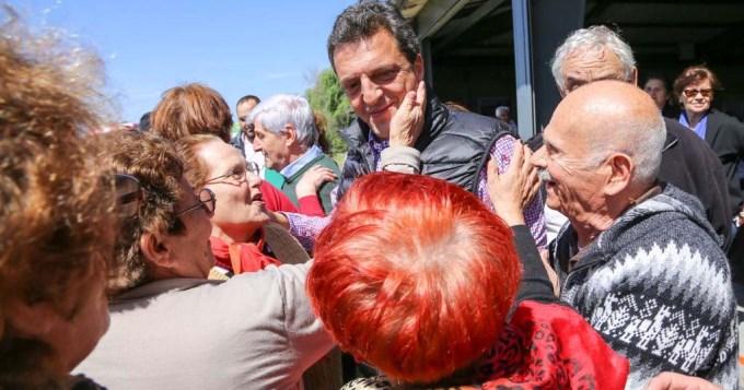 Massa y Stolbizer plantean beneficios para los jubilados