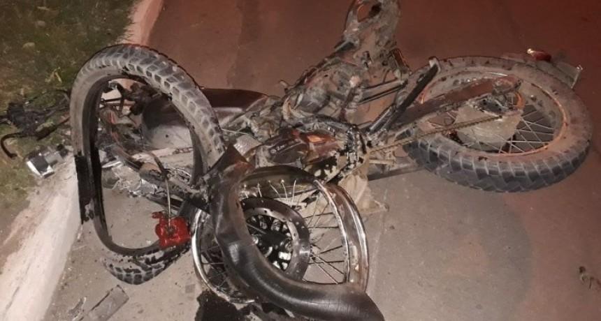 Fin de semana trágico:Dos motociclistas perdieron la vida en diferentes accidentes