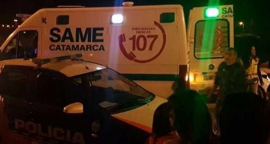 Policías auxiliaron a dos hombres que fueron atacados por una PATOTA