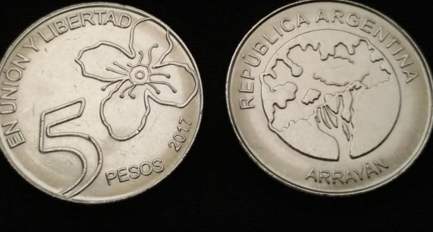 Comenzaron a circular las monedas de $5