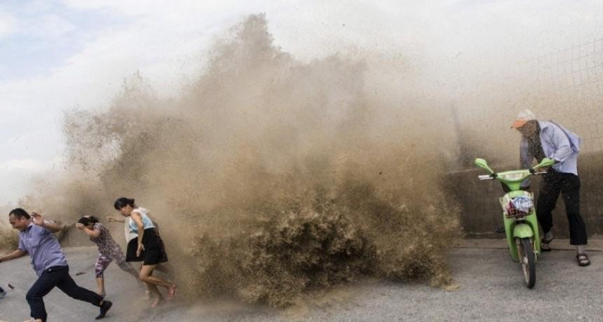 La ciudad de China que evacuó a más de 200 mil personas por un tifón