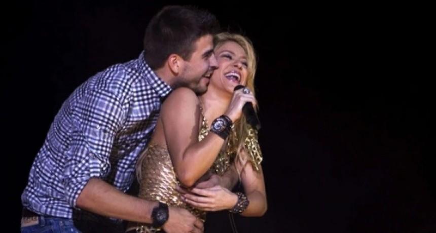 Shakira le escribió un romántico mensaje a Gerard Piqué y se le