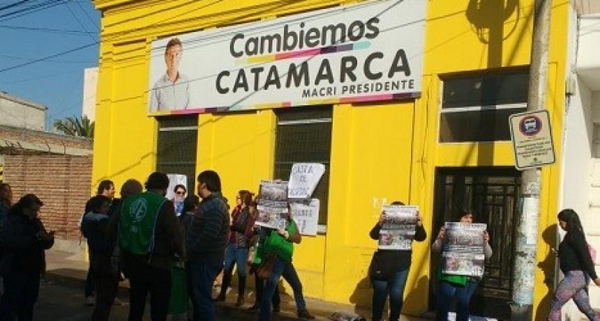 Protesta de Trabajadores de SAF
