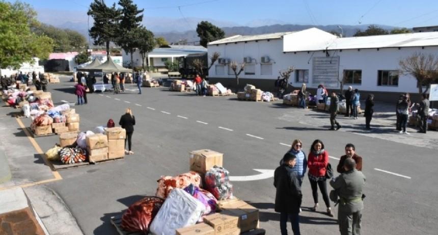 Gendarmería entregó más de 50 millones de pesos en mercadería a 75 entidades de bien público