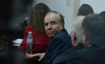 La Fiscalía pidió seis años de prisión para Menem por sobresueldos