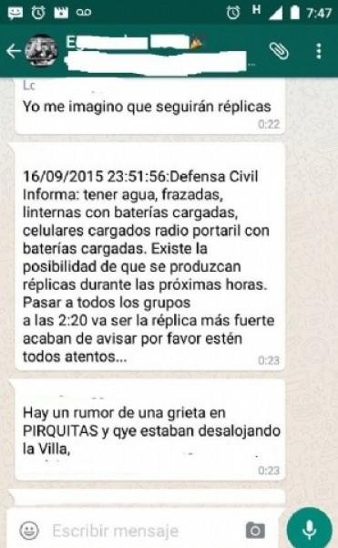 Defensa Civil recorrió el dique Las Pirquitas,tras el sismo