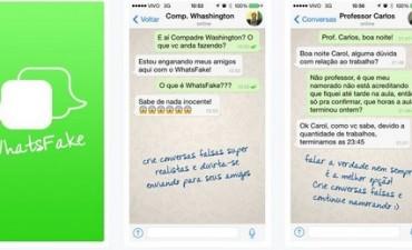 WhatsFake: la app que simula chats de Whatsapp falsos