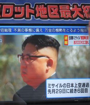 Corea del Norte volvió a tirar misil sobre Japón