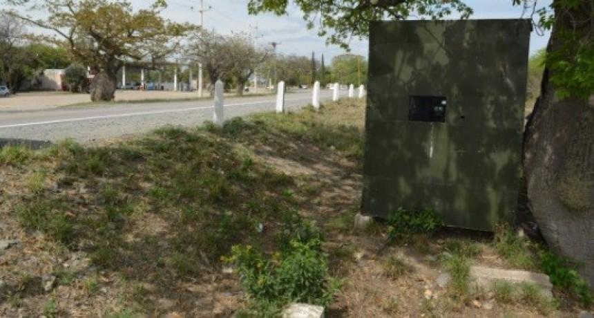Radar camuflado en Chumbicha continúa sorprendiendo a Automovilistas