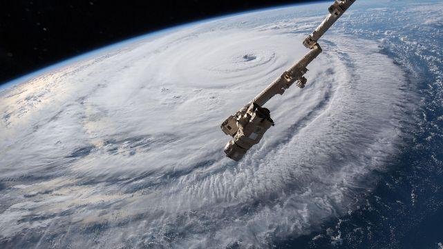 Impactantes imágenes, a horas de que el huracán Florence azote EE.UU.