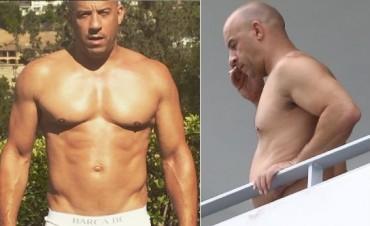 Vin Diesel se une al club de los fofisanos