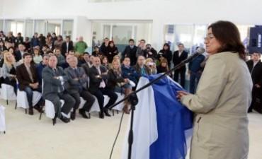 Lucía inauguró el Nuevo edificio de la Escuela Secundaria 47