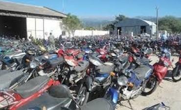 Una docena de motos secuestradas,en varios operativos