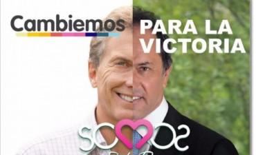 Insólito: Scioli y Macri, juntos en un pueblo de Córdoba