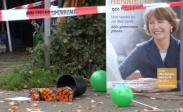 Apuñalaron a una candidata en Alemania por apoyar a los refugiados