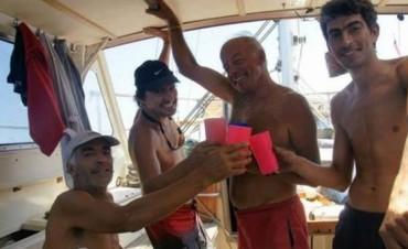 Buscan a tres argentinos perdidos en el Triangulo de las Bermudas