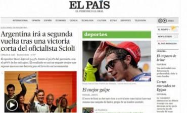 La elección argentina, en los diarios del mundo