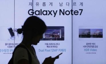 Samsung ajusta producción de Galaxy Note 7 por nuevos fallos