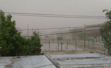Tempestad de Viento y Tierra azotó el Valle de Catamarca