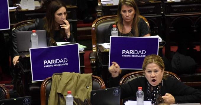 ¿Quiénes votaron en contra de la paridad de género?