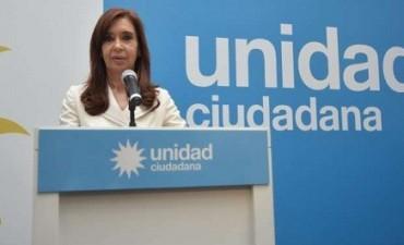 Cristina Kirchner acusó al presidente Macri de