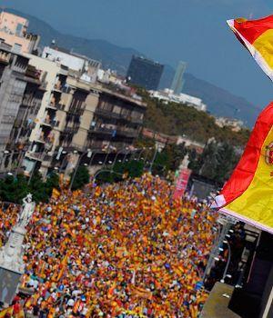 Contramarcha en Cataluña contra la independencia