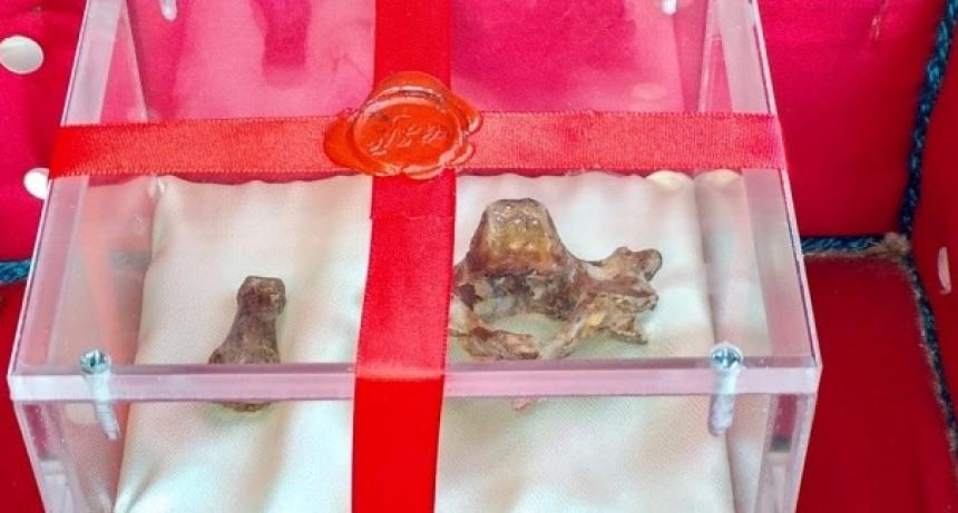 Las reliquias de Esquiú están expuestas en el Santuario de la Virgen del Valle