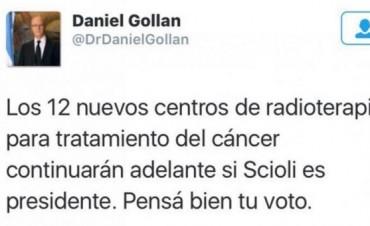 Si pierde Scioli cesarían los tratamientos contra el cáncer