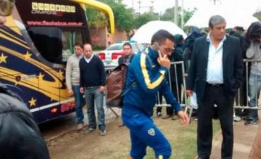 El Boca campeón ya está en Córdoba