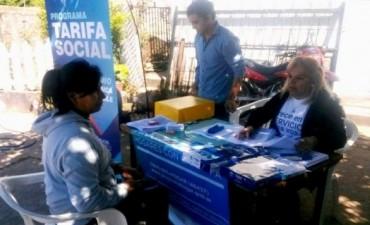 Empadronan para subsidio de Gas y Luz en Santa María