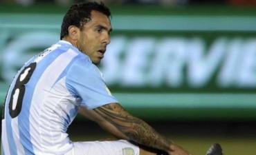 Confirmado: Tevez no jugará ante Brasil