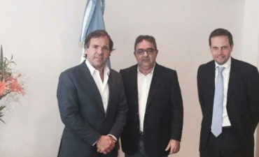 Jalil se reunió con el jefe de campaña de Scioli