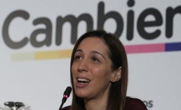 María Eugenia Vidal respondió al exabrupto de José Pablo Feinmann