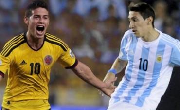 Argentina visita a Colombia en Barranquilla