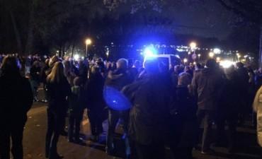 Suspendieron el partido entre Alemania y Holanda: encontraron una bomba en una ambulancia