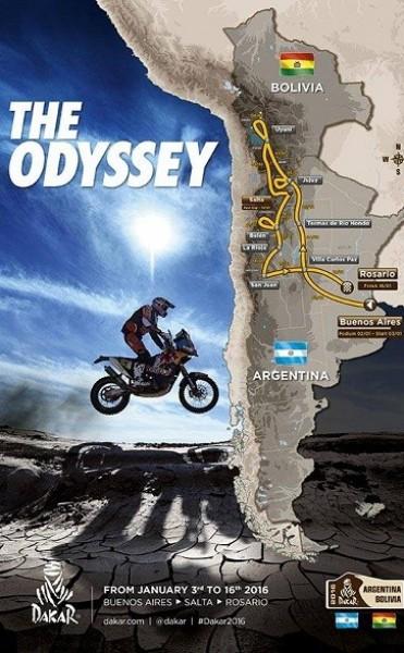 Dakar 2016 en Catamarca el 11,12 y 13 de Enero por Belén
