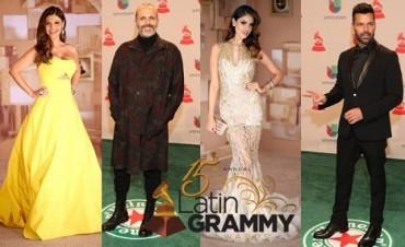 Green Carpet Grammy Latinos 2015